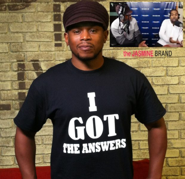 [VIDEO] Sway Responds To On Air Blow Up With Kanye West, Barks Back With T-Shirt Line