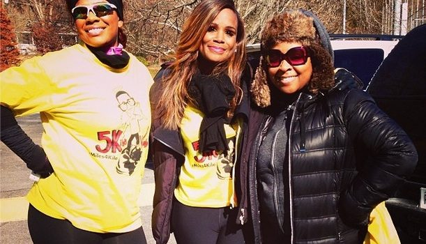 [Photos] Tameka Raymond Runs In Son Kile Glover's Memory + 'Atlanta Exes' Caught Filming?