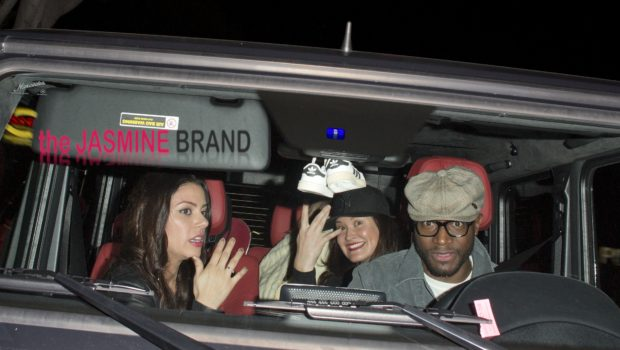Recently Separated Taye Diggs Enjoys Single Life, Actor Leaves Hollywood Club Nightclub