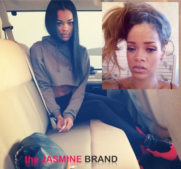 teyana taylor-loses adidas deal-rihanna fight-the jasmine brand