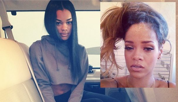 ADIDAS Hints Dropping Teyana Taylor Because of Fight With Rihanna