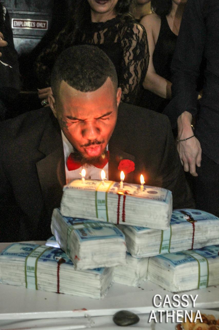 the game birthday dinner-birthday cake candles-the jasmine brand