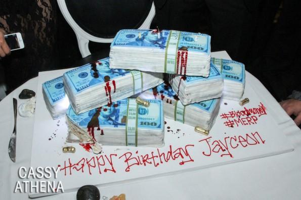 the game birthday dinner-cake-the jasmine brand