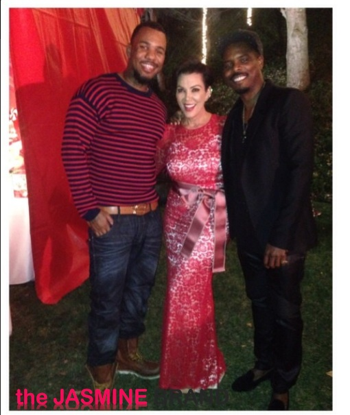 Christmas Eve Party Ideas For Family Part - 50: The Game-kris Jenner-kris Jenner-kardashian-christmas Eve Party 2013-