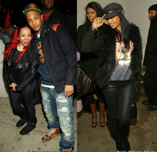Kim Porter Makes Rare Club Appearance + Monica, T.I. & Tiny Party In the A