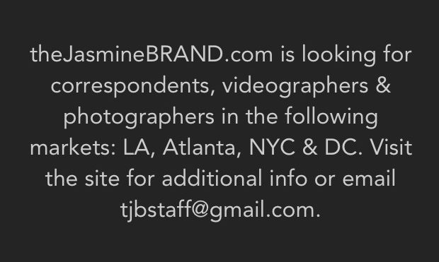 LA // Atlanta // DC // NYC: Search For Correspondents, Videographers & Photographers