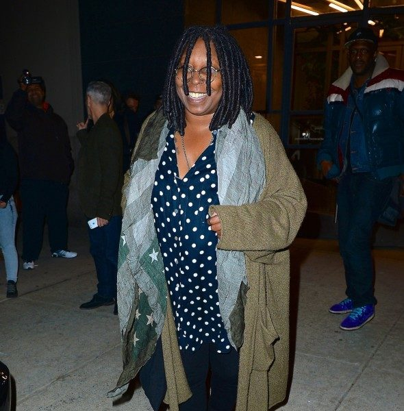 Whoopi Goldberg Launches Marijuana Company To Help Women's Menstrual Cramps