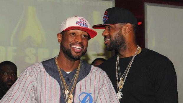 Part 2 of Dwyane Wade's Birthday Bash: Heat Team Parties at ATL Club