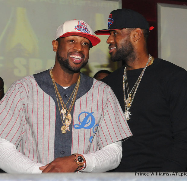 Part 2 of Dwyane Wade's Birthday Bash: Heat Team Parties at ATL Club
