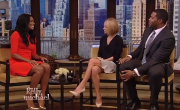 Gabrielle Union on LIVE with Kelly and Michael
