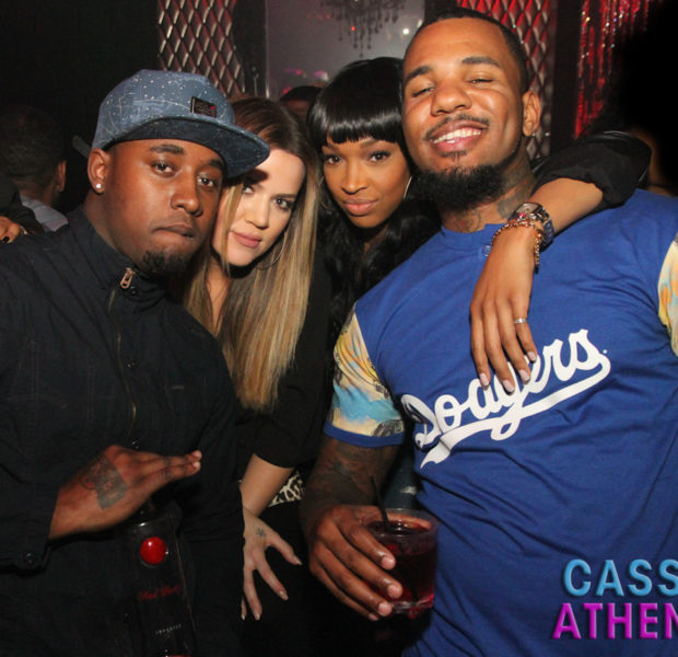 Khloe Kardashian & The Game LOVE Partying Together: BFF's Spotted At Hollywood's TRU