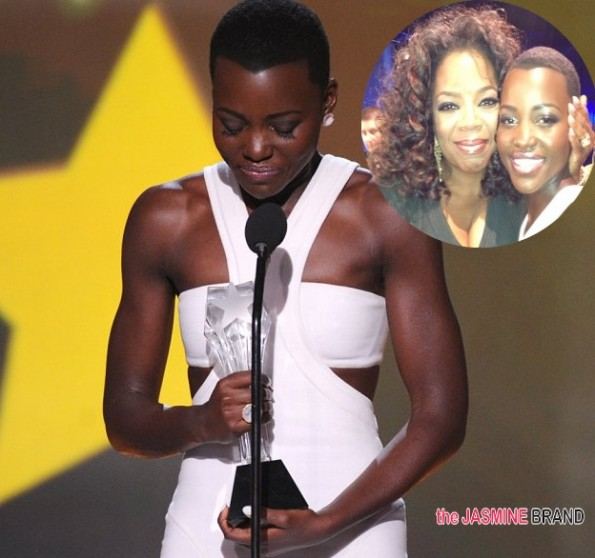 Lupita Nyong'o Wins Critics Choice Awards 2014 | Acceptance Speech-oprah winfrey-the jasmine brand