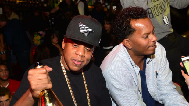 [Photos] Jay Z Parties With Popular 90's Rapper Special Ed