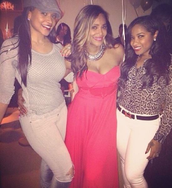 [Photos] Tameka Raymond Celebrates Birthday With Festive Houseparty