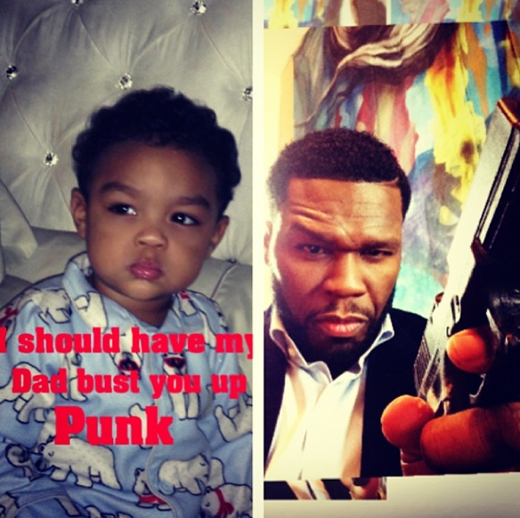 50 Cent Introduces New Adorable Son, With Ex GF Daphne Joy On Instagram-The-Jasmine-Brand