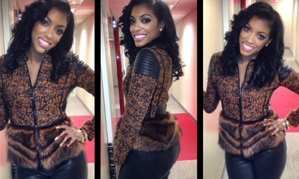Newly Single Porsha Stewart Explains Why Men Need to Contact Her Management For A Date