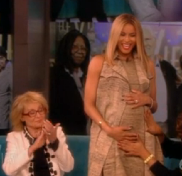 [VIDEO] Worst-Kept-Secret-Ever: Ciara Confirms Pregnancy On 'The View'