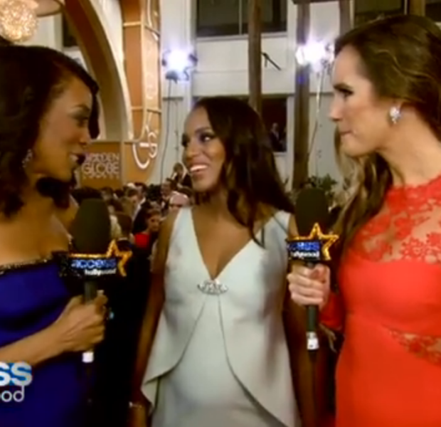 [WATCH] Kerry Washington Calls Pregnancy A 'Blessing', But Remains Tight-Lipped