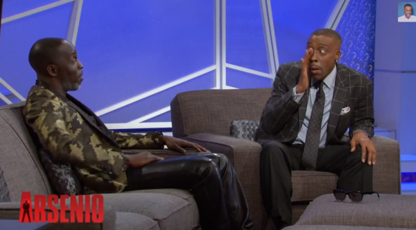 Arsenio Brought to Tears When Michael K. Williams Talks About Emotional Breakdown-2-The Jasmine Brand