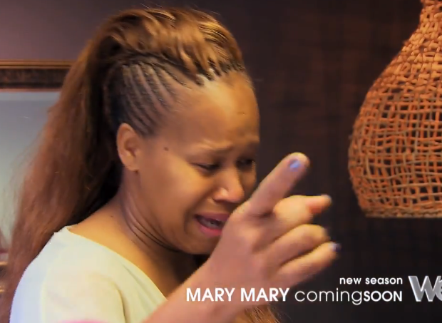 [VIDEO] Mary Marys' Tina Campbell Addresses Cheating Husband On Reality Show