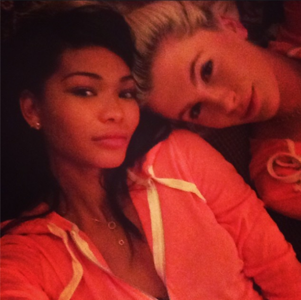 Chanel-Iman-Selfie-2014-The Jasmine Brand