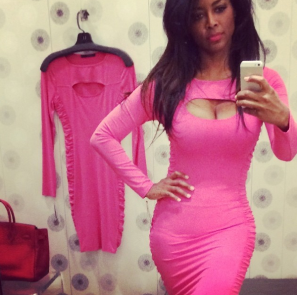 Kenya-Moore-Selfie-2014-The Jasmine Brand