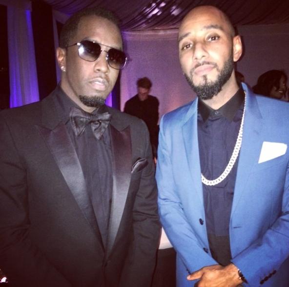 Diddy-Swizz-Beatz-Grammy-Afterparty-2014-The Jasmine Brand
