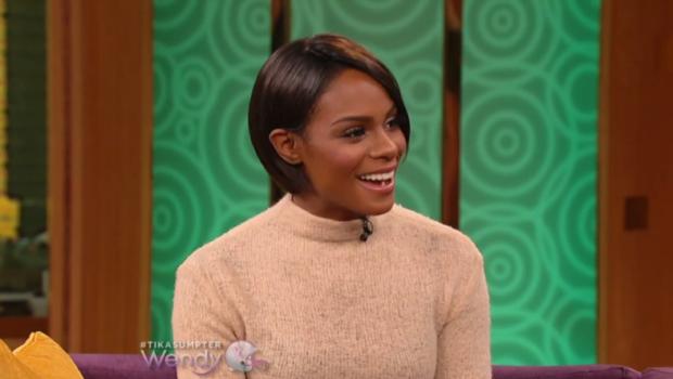 [VIDEO] Tika Sumpter Responds To Playing Negative Roles Similar to Kerry Washington & Gabrielle Union