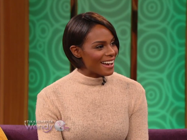 [VIDEO] Tika Sumpter Responds To Playing Negative Roles Similar to Kerry Washington & Gabrielle Union