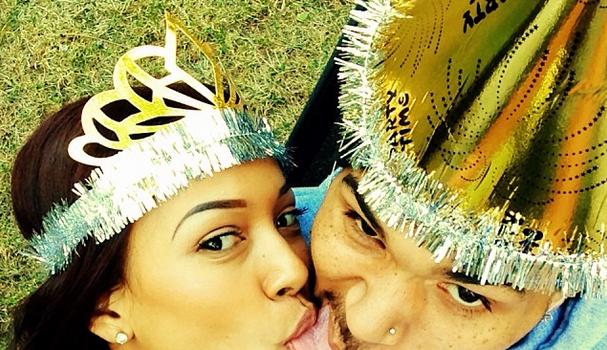 Chris Brown & Karrueche Swap Tongues For Instagram + More Selfie Snaps of Angela Simmons, Cassie & Usher