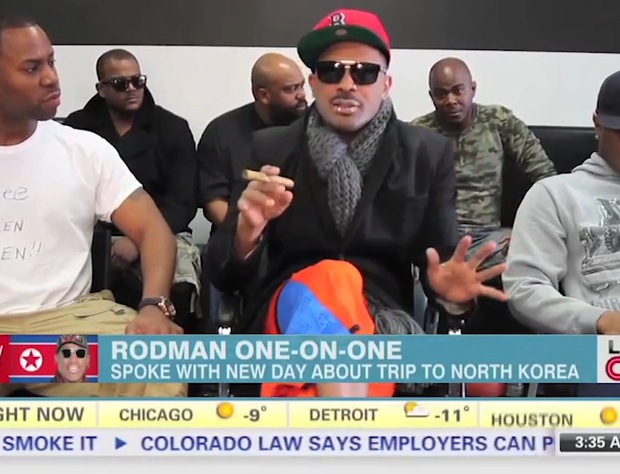 [WATCH] Mike Epps Pokes Fun at Dennis Rodman's Drunken North Korea Interview
