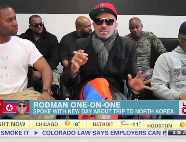 [WATCH] Mike Epps Pokes Fun at Dennis Rodman's Drunken North Korea Interview