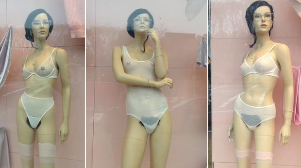 Offensive or Realistic? American Apparel's Mannequin Sports Pubic Hair