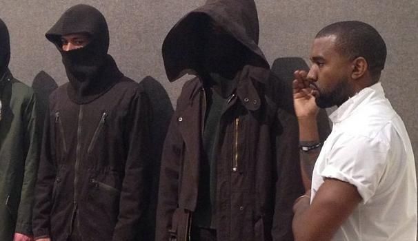 [Photos] Kanye West Presents During Paris Fashion Week