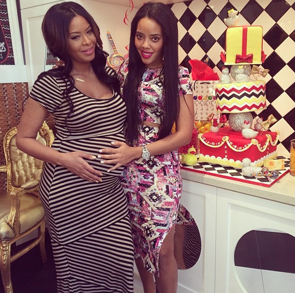 [Photos] Welcome to the Family! Vanessa Simmons & Mike Wayans Bring Famous Families Together for Baby Shower