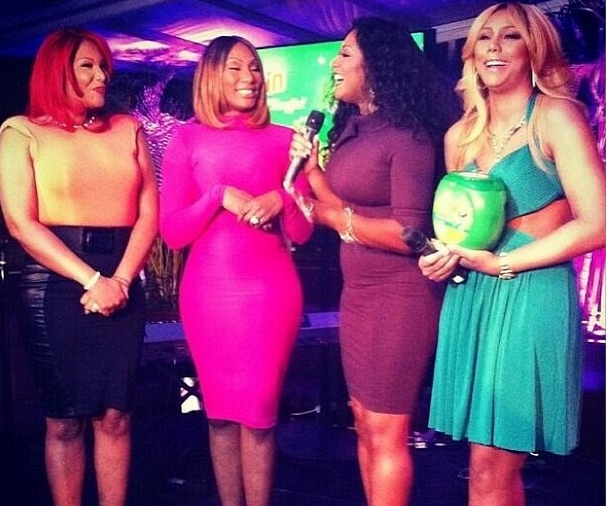 [VIDEO] Toni Braxton Hosts Pre-Grammy Gain Party With Braxton Family Values Sisters