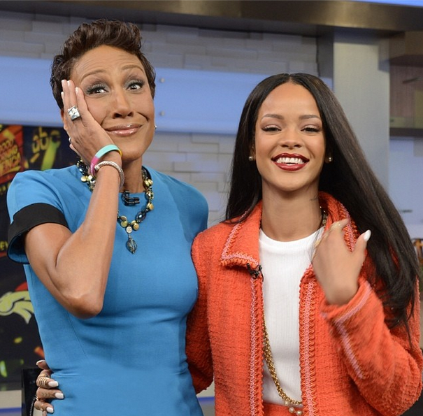 [VIDEO] Rihanna Shares Compelling Safe Sex Message on 'Good Morning America'