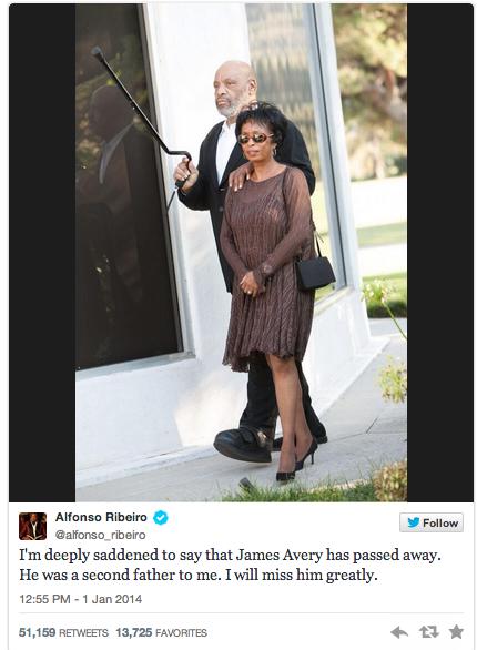 The Jasmine Brand Alfonso Ribeiro Tweet