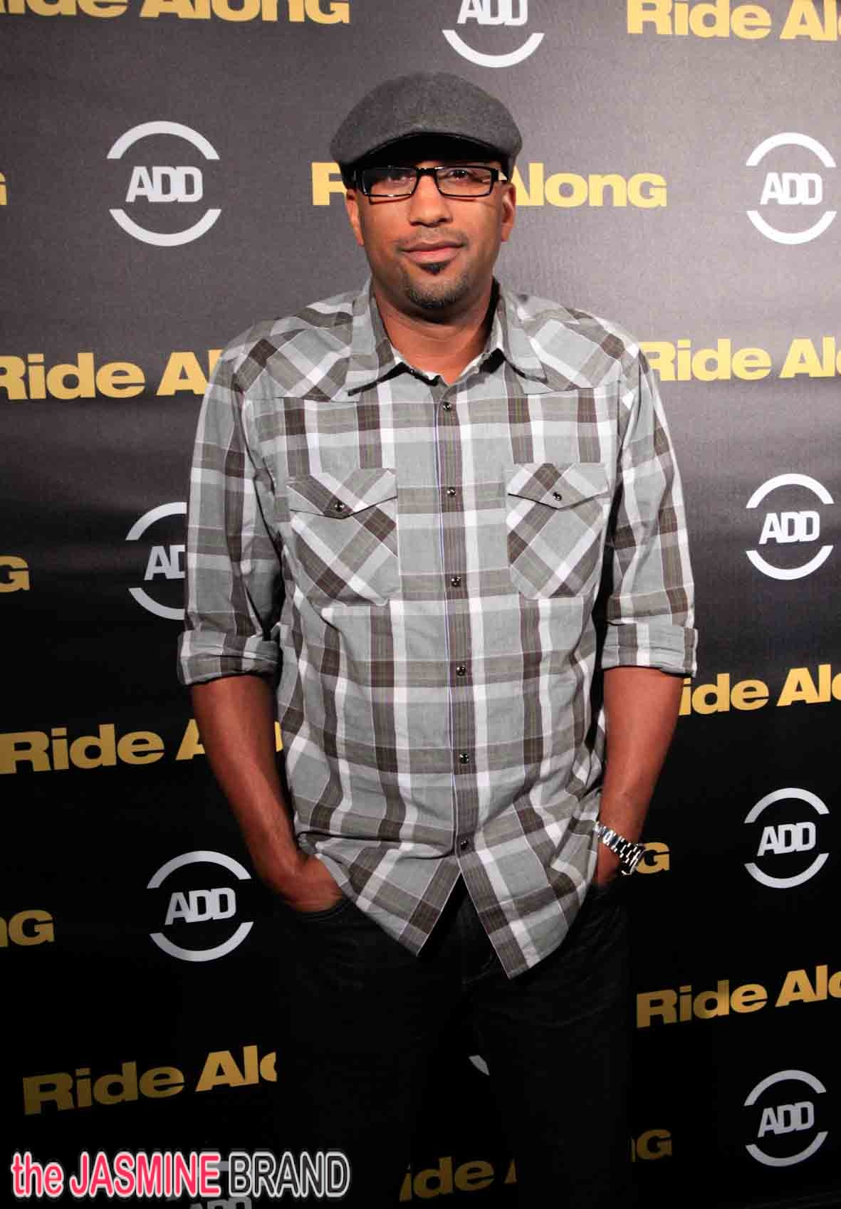 Tim Story-ride along premiere-the jasmine brand