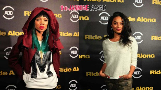Lil Mama, Russell Simmons & Andre Harrell 'Ride Along' in Hollywood