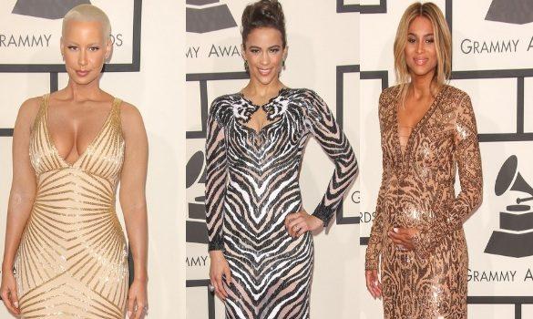 [Photos] GRAMMY's Red Carpet Stalking: Ciara, Paula Patton, Kevin Hart, Amber Rose & More