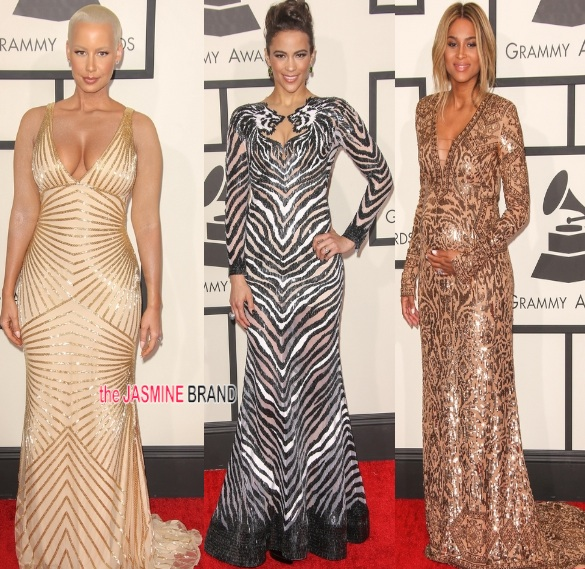 amber rose-paula patton-ciara-grammy awards 2014-the jasmine brand