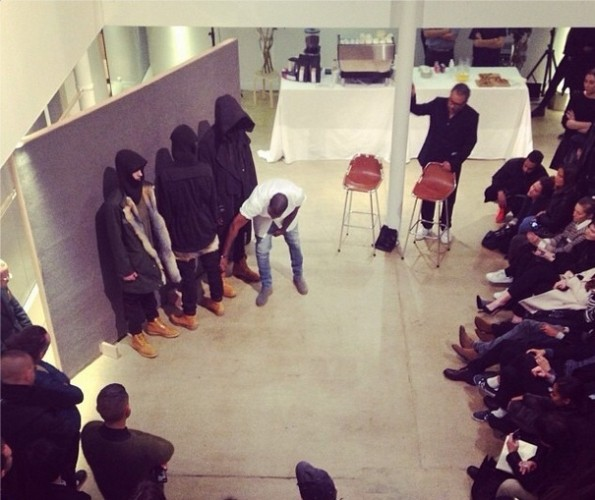 audience-kanye west-presents at paris fashion week 2014-the jasmine brand