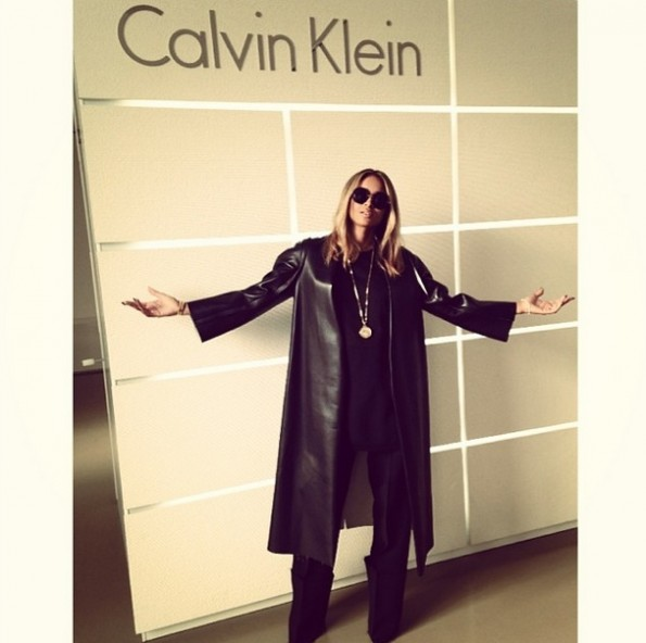 baby bump-future-ciara-Fall 2014 Calvin Klein Collection runway show 2014-the jasmine brand