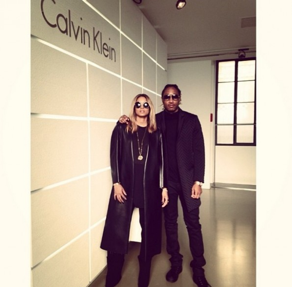 baby bump-future-ciara-i-Fall 2014 Calvin Klein Collection runway show 2014-the jasmine brand