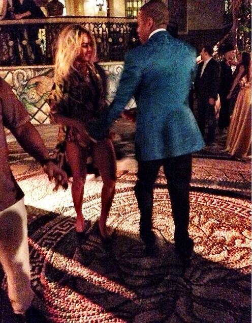 beyonce-jay z-new years eve miami versace house-the jasmine brand