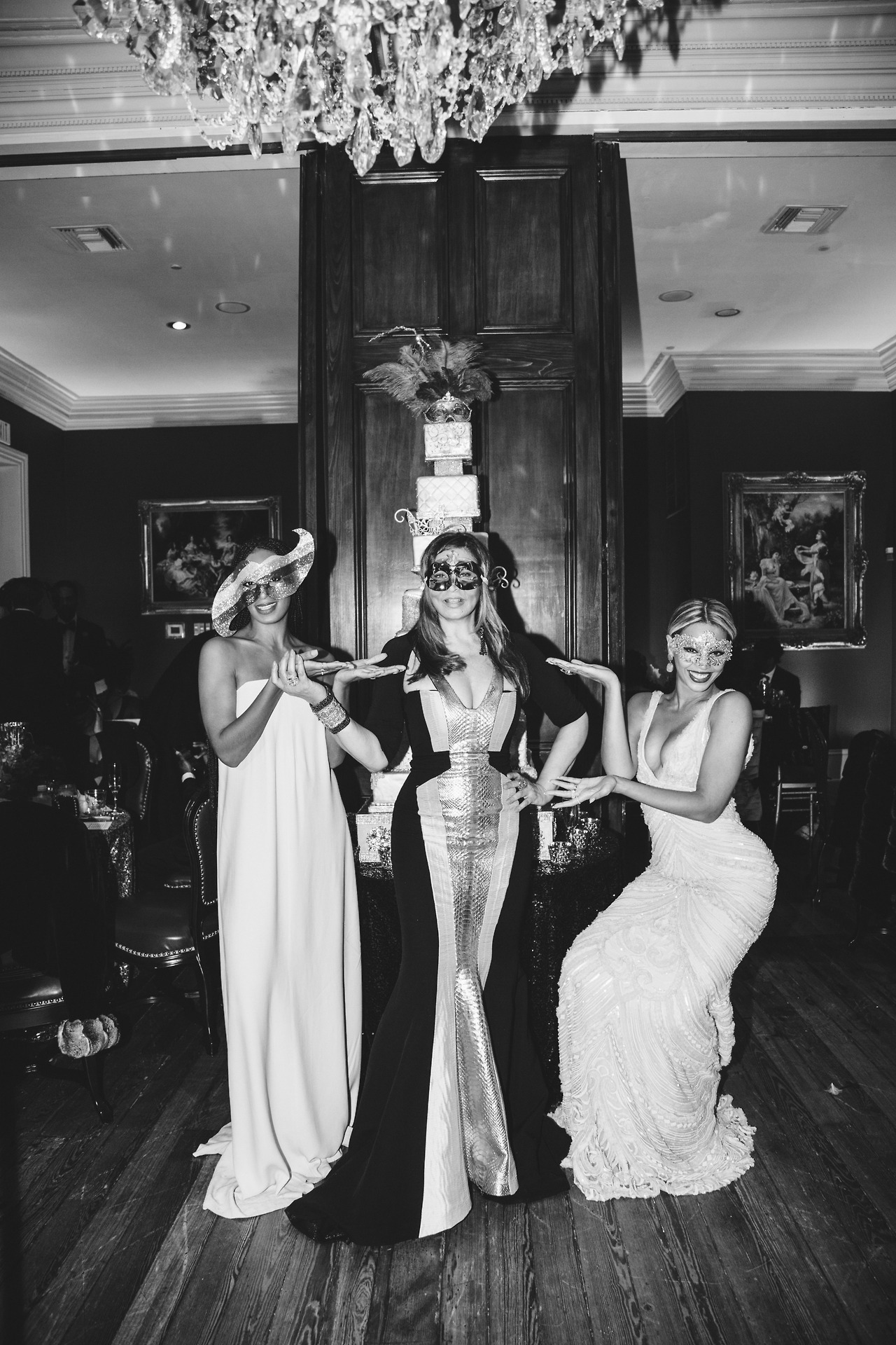 beyonce-solange knowles-tina knowles-60th birthday party new orleans-the jasmine brand