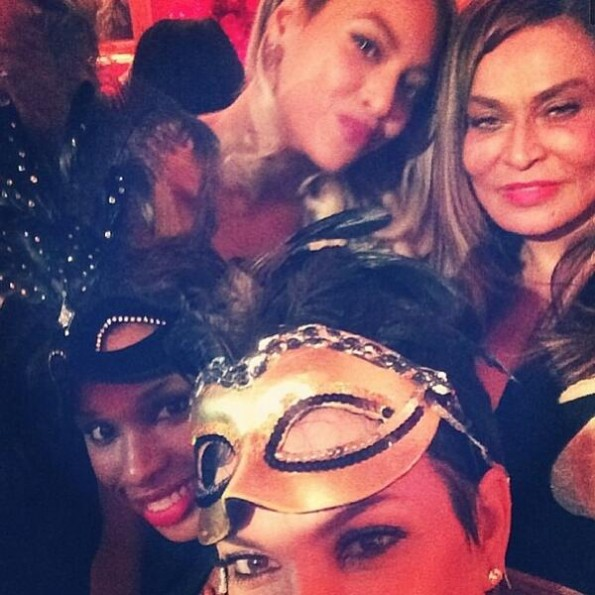 beyonce-tina knowles 60th birthday masquerade party-the jasmine brand
