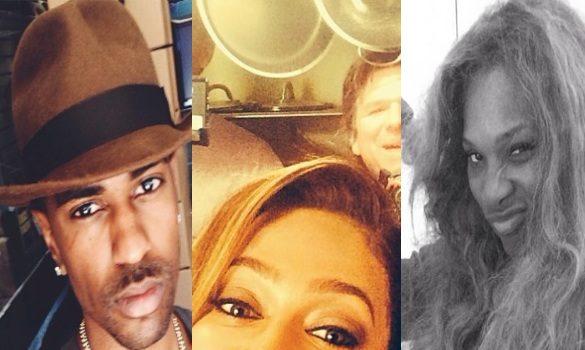 [PHOTOS] Best Celebrity Selfies of the Week: Serena Williams, Evelyn Lozada, Khloe Kardashian & More