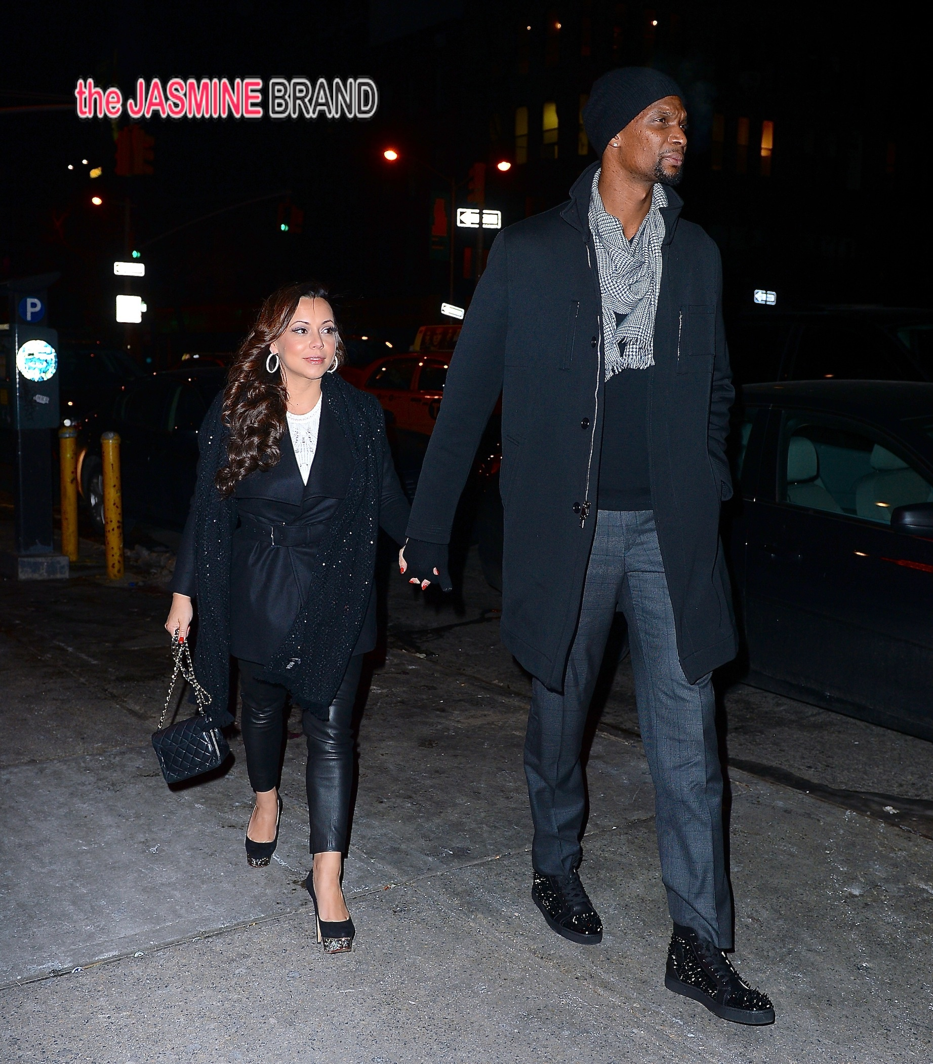 Miami Heat players including Lebron James take their ladies out for dinner in NYC, but Gabrielle Union is missing